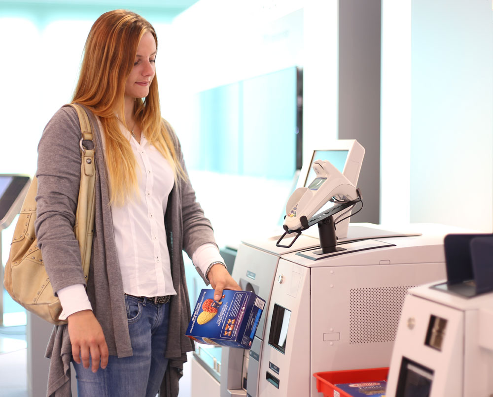 Sichere Kommunikation für den Smart-Shop ©Wincor Nixdorf International GmbH