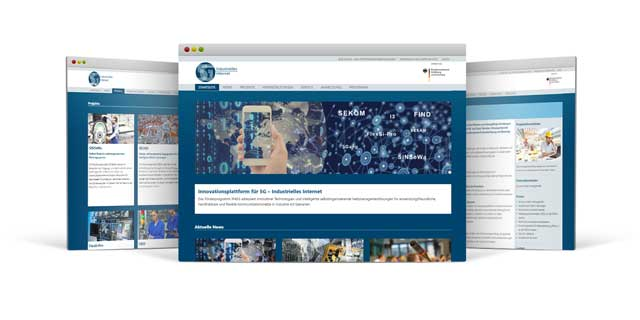 Screenshot der Website www.ip45g.de